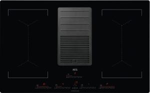 AEG IDK84453IB Induktionskochfeld mit integriertem Dunstabzugnur UMLUFTHob²HoodBridge-Funktion