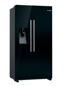 Bosch KAD93VBFP SidebySide schwarz 368Ltr.Nutzinhalt Wasserspender A+