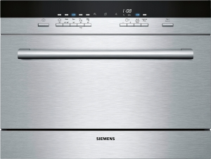 Siemens SK75M522EU Einbau-Modular-Geschirrspüler60cmEdelstahlvarioSpeed PlusaquaStop