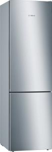 Bosch KGE39ALCA Stand Kühl-Gefrier-Kombination mit Edelstahl-Optik, LowFrost SuperKühlen und LED