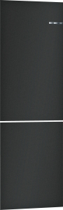 Bosch KSZ2BVZ00 schwarz matt -ZUBEHÖR- Austauschbare Farbfront für Vario Style Kühl-Gefrier-Kombination
