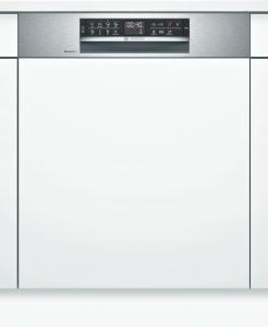 Bosch SMI6ZCS49E Geschirrspüler integrierbar 60 cm EdelstahlZeolith HomeConnect EEK: A+++