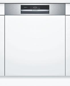 Bosch SMI8YCS01E Geschirrspüler integrierbar 60 cm Edelstahl Zeolith EmotionLight 43/41dB HomeConnect