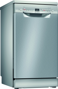 Bosch SPS2HKI41E Stand Geschirrspüler 45 cmEdelstahl lackiert HomeConnect Startzeitvorwahl