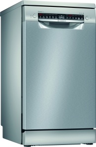 Bosch SPS4HMI61E Stand Geschirrspüler Edelstahl lackiert 45 cmHomeConnect Startzeitvorwahl44dB