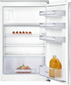 Bosch KIL18NFF0 Einbau Kühlschrank mit Gefrierfach 88 cm Nische FlachscharnierLED