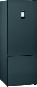 Siemens KG56FPXDA Stand Kühl-Gefrier-Kombi blackSteel 70cm EmotionLighthyperFreshPremium EEK:D
