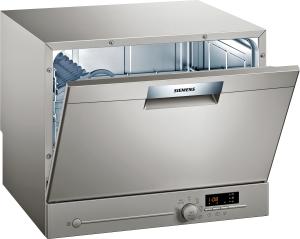 Siemens SK26E822EU Stand Geschirrspüler 60 cm Edelstahl lackiertStartzeitvorwahl