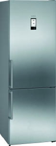 Siemens KG49NAIDP Kühl-Gefrier-Kombi Edelstahl AntiFingerprint noFrost EmotionLight hyperFreshPlus