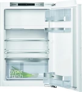 Siemens KI22LADE0 Einbau Kühlschrank mit Gefrierfach 88 cm Nische Flachscharnier hyperFreshPlusEEK: A++