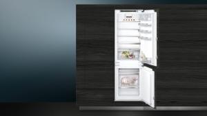 Siemens KI86SADD0 Einbau Kühl-Gefrier-Kombi 178 cm Nische Flachscharnier hyperFreshPlus varioZone