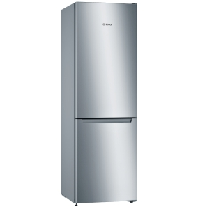 Bosch KGN36NLEA Stand Kühl-Gefrier-KombiNoFrost Nutzinhalt 302Ltr. Höhe 185cm LEDEdelstahl-Optik EEK:E