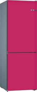 Bosch KVN36CEEA (KGN36CJEA,KSZ1AVE00) VarioStyle NoFrost Kühl-Gefrier-Kombi Himbeere