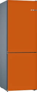 Bosch KVN36COEA (KGN36CJEA,KSZ1AVO00) VarioStyle NoFrost Kühl-Gefrier-Kombi Orange