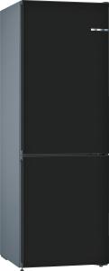 Bosch KVN36CZEA (KGN36CJEA,KSZ1AVZ00) VarioStyle NoFrost Kühl-Gefrier-Kombi schwarz matt