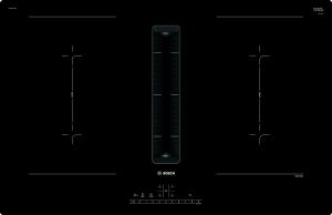 Bosch PVQ811F15E Kochfeld mit Dunstabzug Induktion 80 cm flächenbündig DirektSelectCombiZonePowerBoost