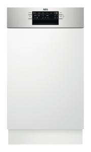 AEG FEE62417ZM Geschirrspüler integrierbar 45 cmEdelstahlAirDryExtraHygieneEEK: A++