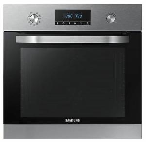 Samsung NV70K3370BS/EG Einbaubackofen 60cm Pyrolyse+ Dampfreinigung 20 Automatikprogramme 9 Betriebsarten