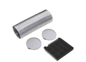 AEG SKMCFE01 Umluft-Installations-Kit MCFE01 Kohlefilter & 150mm Abluftschlauch