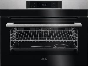 AEG AEG KEK748280M Einbau-Kompaktbackofen SoftClosing Touch-Bedienung, Grillfunktion