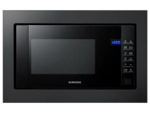 Samsung FG87SUB/EG Einbau-Mikrowelle mit GrillCrustyPlateDampfreinigung