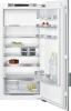 Siemens KF42LAF30 mit weißer Türfront und Alu DekorrahmenEinbau-Kühlschrank mit Gefrierfach 123cm