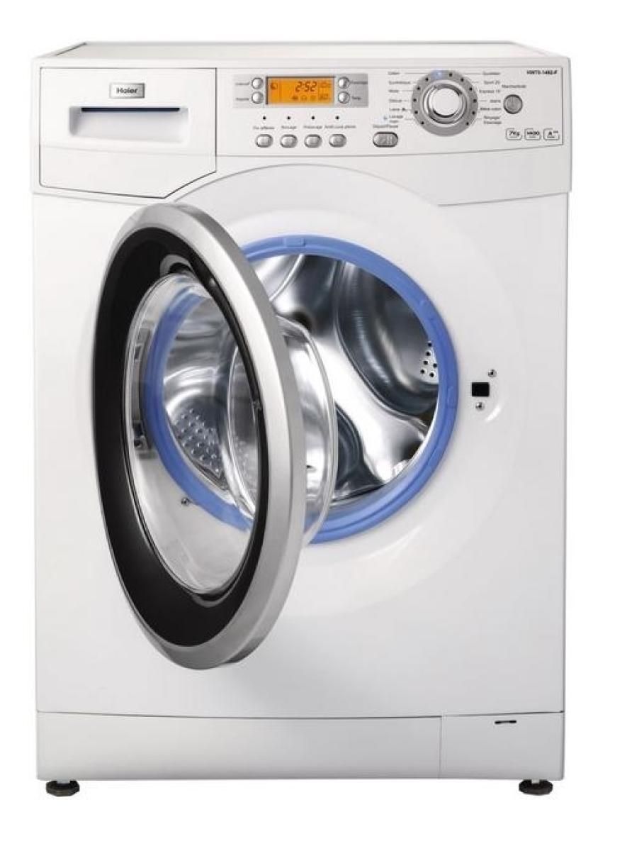 haier hdw70 1482n waschtrockner 1400u min 7kg waschen 4kg trocknen g nstig kaufen. Black Bedroom Furniture Sets. Home Design Ideas