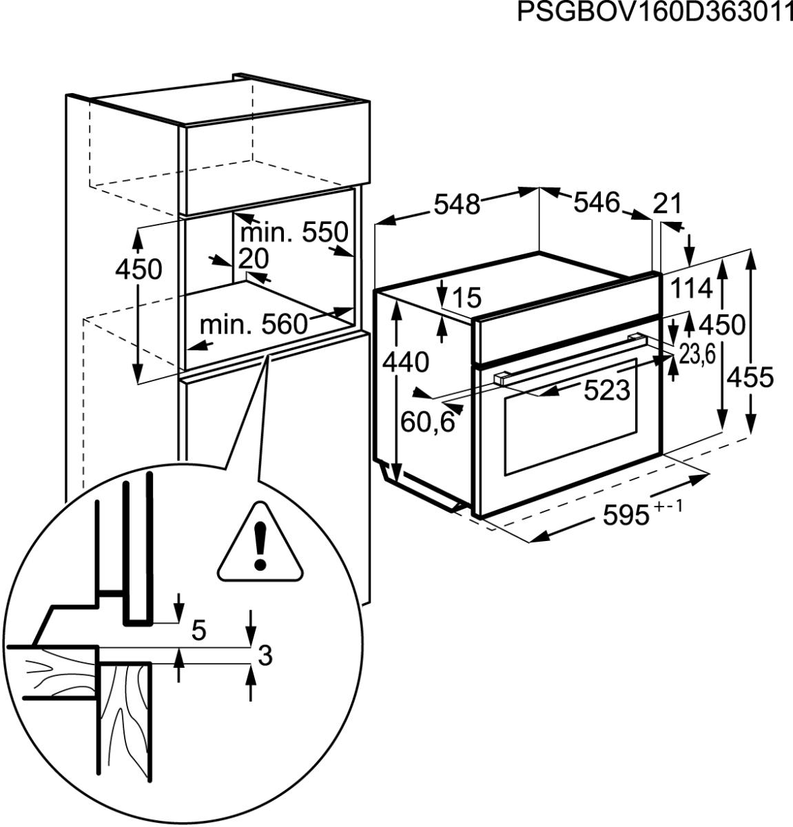 aeg kmk761000m kompakt backofen mit mikrowelle 45cm hoch g nstig kaufen. Black Bedroom Furniture Sets. Home Design Ideas