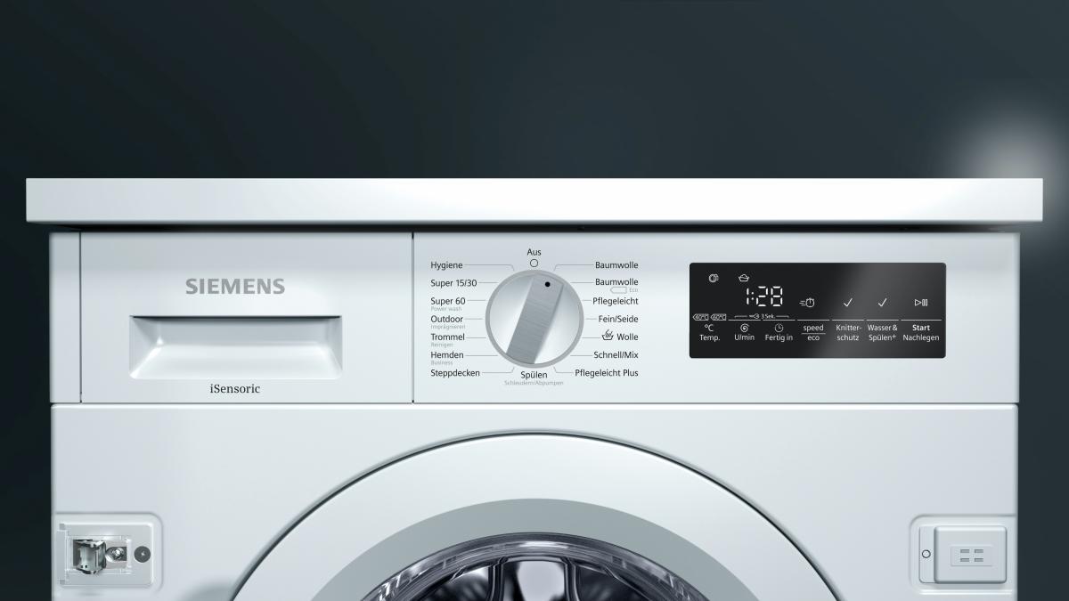 siemens wi14w440 waschmaschine vollintegrierbar g nstig. Black Bedroom Furniture Sets. Home Design Ideas