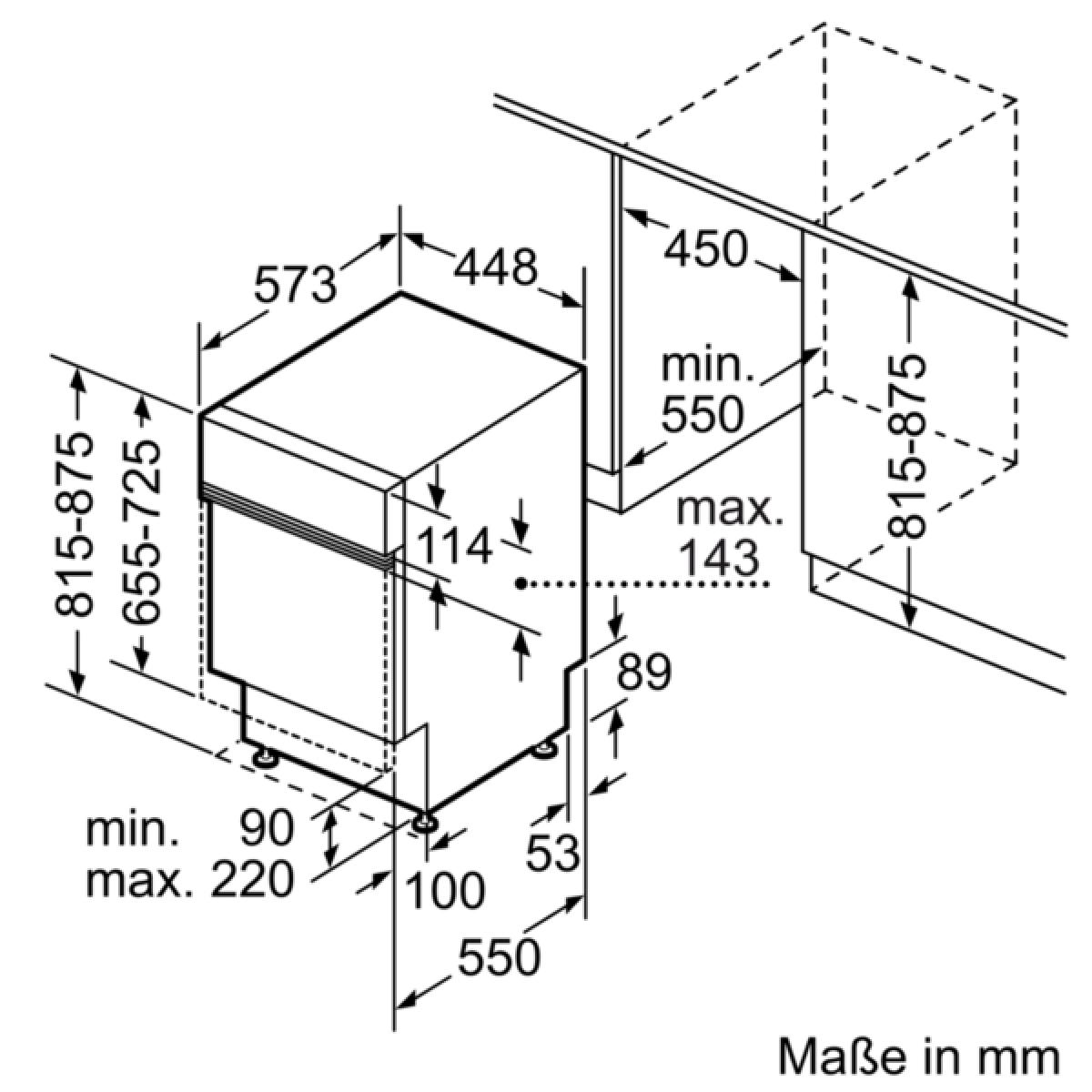 neff gk2502cn s481c50s3e geschirrsp ler 45 cm integrierbar edelstahl 46db a g nstig kaufen. Black Bedroom Furniture Sets. Home Design Ideas