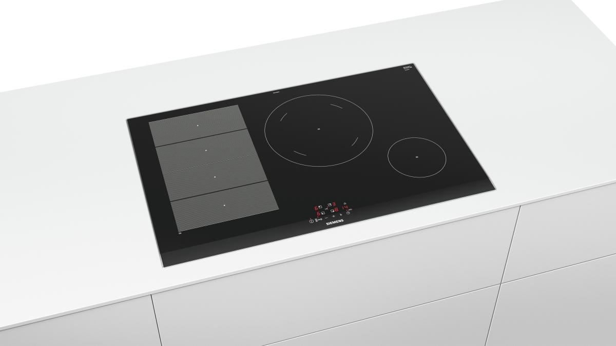 siemens ex875beb1e kochfeld autark induktion facetten design 80 cm glaskeramik g nstig kaufen. Black Bedroom Furniture Sets. Home Design Ideas